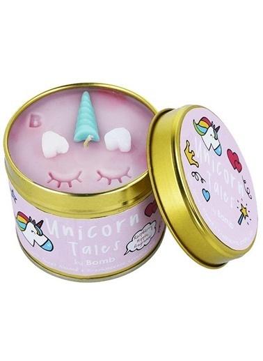 Bomb Cosmetics Unicorn Tales Teneke Mum Renkli